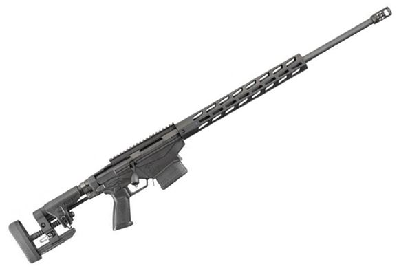 """Picture of Ruger Precision Gen 3 Bolt Action Rifle - 6mm Creedmoor, 24"""", Cold Hammer Forged 4140 Chrome-Moly w/5R Rifling 1:8"""", Hybrid Muzzle Brake, 153 Free-Float M-LOK Handguard, MSR Folding Adjustable LOP & Comb Stock, 20 MOA Optic Rail, 2x10rds"""