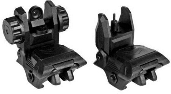 Picture of Trinity Force Accessories - UL BUS, Ultralight Flip-up Sights (Front & Rear), Polymer, Black