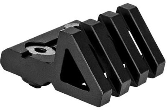 Picture of Trinity Force Accessories- 45 degree Off-Set M-LOK Mount, Aircraft Grade Aluminum, Black Anodized