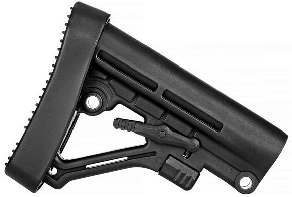 Picture of Trinity Force Corp AR15 Parts - Omega Stock Assembly Kit, MIL-SPEC, Black, 12.89oz. Rubber Buttpad, Polymer