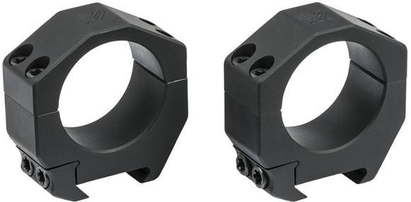 """Picture of Vortex Optics, Riflescope Rings -  Precision Series PMR Rings, Aluminum, 34mm, High (1.26""""), Matte Black"""