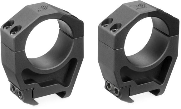 "Picture of Vortex Optics, Riflescope Rings -  Precision Series PMR Rings, Aluminum, 34mm, Extra High (1.45""), Matte Black"