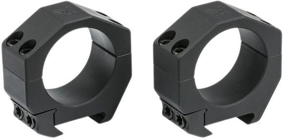 """Picture of Vortex Optics, Riflescope Rings -  Precision Series PMR Rings, Aluminum, 34mm, Low (0.92""""), Matte Black"""