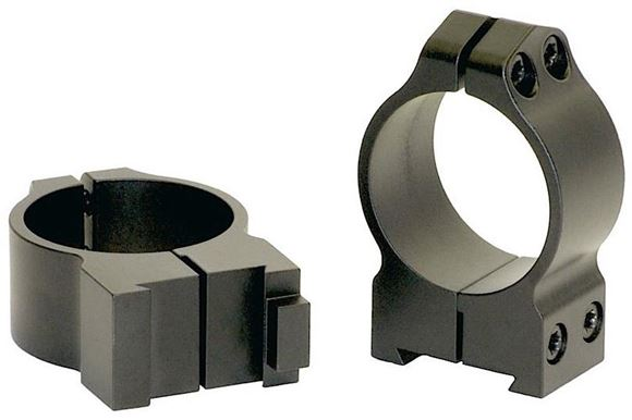 "Picture of Warne Scope Mounts Rings, CZ - For CZ 550 (19mm Dovetail), 30mm, Medium (.425""), Matte"