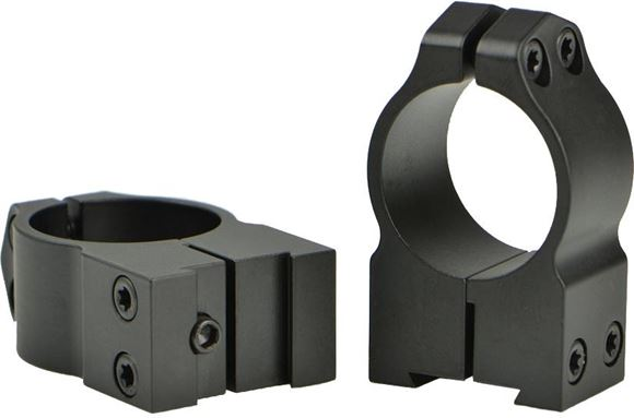 "Picture of Warne Scope Mounts Rings, CZ - For CZ 527 (16mm Dovetail), 1"", High (.535""), Matte"
