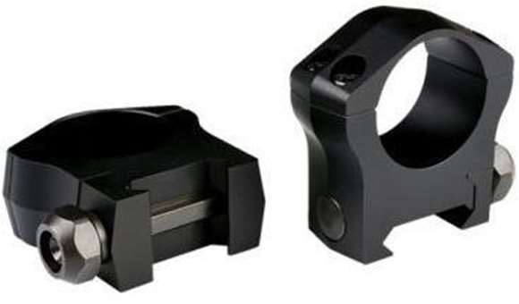 """Picture of Warne Scope Mounts Rings, Mountain Tech - 1"""", Picatinny, High, Matte"""
