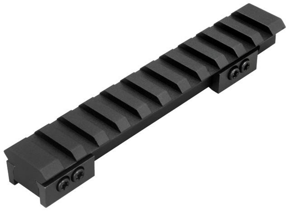 Picture of Warne Maxima - Zero MOA Rail, Aluminum, Matte Black, Fits Ruger Mini 14 & 30 Ranch Models