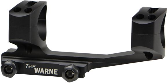"Picture of Warne Scope Mounts Rings -  X-Skel Mount Tactical, 1"", Zero MOA, Extended Cantilever MSR Mount, Matte Black"