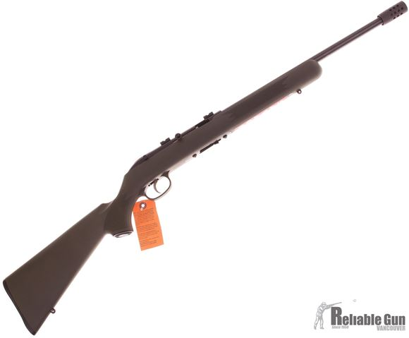 "Picture of Savage Lakefield 64 TR Semi Auto Rimfire Rifle - 22LR, 16"", Muzzle Brake, Green Synthetic Stock, 10rds"