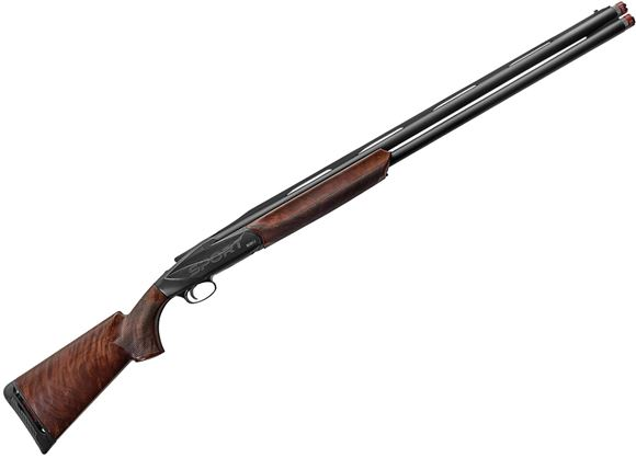 "Picture of Benelli 828U Sport Over/Under Shotgun - 12Ga, 3"", 30"", Blued, ""Sport"" Engraved Receiver, AA-Grade Satin Walnut Stock, Carbon Fiber Rib w/ Front White Dot Sight, Extended Crio (C,IC,M,IM,F)"