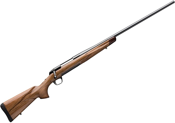 "Picture of Browning X-Bolt Medallion French Walnut Bolt Action Rifle - 6.5 Creedmoor, 22"", 8"", Sporter Contour, Polished Blued w/ Roll Engraved Receiver, AA Grade French Walnut Stock w/ Rosewood Grip Cap, 4rds"