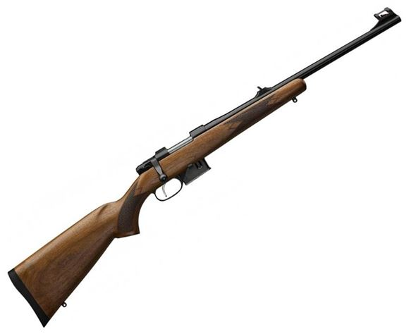 "Picture of CZ 527 Carbine Bolt Action Rifle - 223 Rem, 18.5"", 1:9, Turkish Walnut Carbine Stock, 5rds, Fixed Sights, SST Trigger"