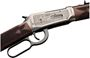 """Picture of Winchester Model 94 """"125th Anniversary Edition"""" Lever Action Rifle - 30-30 Win, 24"""", 12"""", Polish Blued w/ Gold Marking, Hand Engraved Nickel Finish Receiver, Oil Finish Grade III/IV Black Walnut Stock, 6rds, Marble Bead Front & Adjustable Semi-Buckhorn R"""