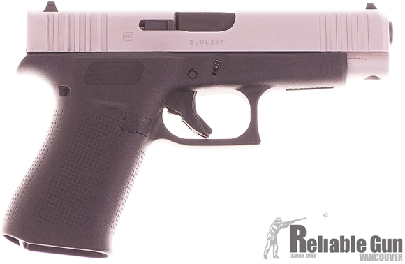 Picture of Used Glock 48 Semi-Auto 9mm, Silver Slide, With 2 Mags & Original Box, Good Condition