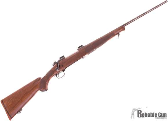 Picture of Used Winchester Model 70 Featherweight Bolt Action Rifle, .243 Win, Weaver Bases, Walnut Stock, Excellent Condition
