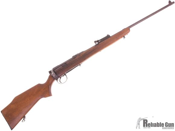"""Picture of Used Sporterized Lee Enfield SMLE 303 British, 25"""" Barrel, Iron sights, Sporter Monte Carlo Wood Stock, 1 Magazine, Fair Condition"""