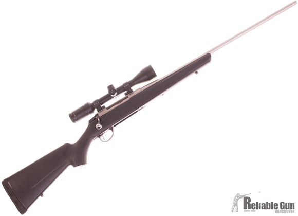 Picture of Used Tikka T3x Lite Stainless Bolt Action Rifle, 300 WSM, 24'' Barrel, Black Synthetic Stock, Limbsaver Recoil Pad, Zeiss Terra 3-9x40 Scope, 1 Magazine, Very Good Condition