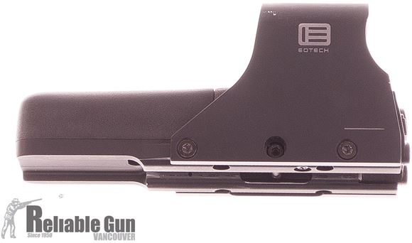 Picture of Used Eotech 512 Holographic Sight, Scratches On Shroud, Original Box, Good Condition