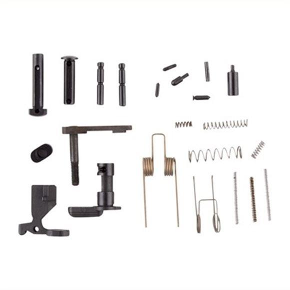 Picture of Brownells AR 15 Parts - Lower Parts Kit, 5.56, Milspec (No Trigger Guard, No Grip, No Fire Control Group)