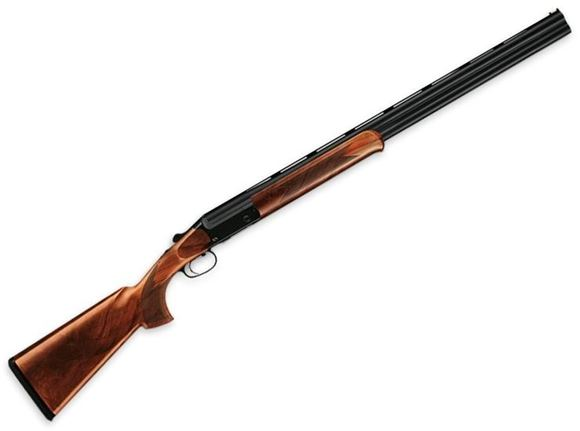 "Picture of Blaser F3 Competition Sporting Standard Over/Under Shotgun - 12Ga, 3"", 32"", Vented Rib, Blued, Black Receiver w/Gold-Colored F3 Logo, Grade 5 Walnut Stock w/Schnabel Forearm, HIVIZ Front Bead, Spectrum Extended Chokes (SK,IC,LM,M,IM)"