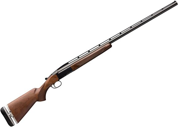 "Picture of Browning BT-99 Micro LOP Single Shot Shotgun - 12Ga, 2-3/4"", 30"", High-Post Vented Rib, Satin Blued, Blue Steel Receiver, Satin Walnut Stock w/ Graco Buttpad Plate for Adjustable LOP, Ivory Front & Mid-Beads, Invector-Plus Flush (M)"