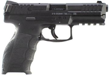 Picture of Heckler & Koch (H&K) SFP9-SF Striker Fired Single Action Semi-Auto Pistol - 9mm, 106mm, Polygonal Profile, Blued, Fiber-Reinforced Polymer Grip Frame, 2x10rds, Fixed Sights