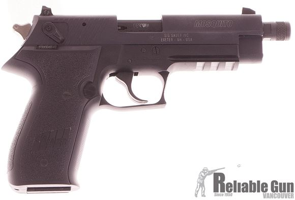Picture of Used Sig Sauer Mosquito Semi-Auto .22LR, With 2 Mags & Original Box, Excellent Condition