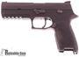 "Picture of Used SIG SAUER P320 Striker Action Semi-Auto Pistol - 9mm, 4.7"", Nitron Stainless Steel, Black Polymer Grip Module, 2x10rds, Hi Viz Front Sight, Rail, Original Box, Good Condition"
