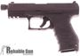 """Picture of Used Walther PPQ Navy Single Action Semi-Auto Pistol - 9mm, 4.6"""" Threaded Barrel, Steel Slide & Polymer Frame, 3 Mags & Original Box, Excellent Condition"""
