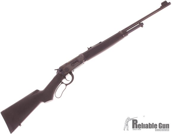 Picture of Used Winchester Model 94AE Synthetic Lever Action Rifle, 30-30 Win, 20'' Barrel, Black Synthetic Stock, Cross Bolt Safety, Very Good Condition