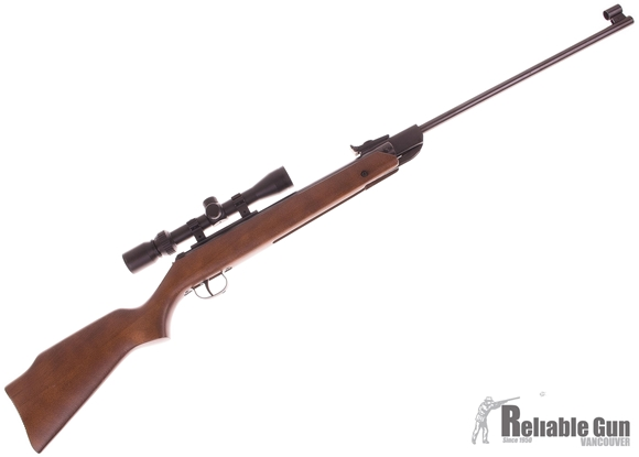 Picture of Used Diana Model 34 Break Barrel Air Rifle, 22 Cal/5.5mm, 800 FPS, Wood Stock, Bushnell 3-9x32 Scope, Very Good Condition