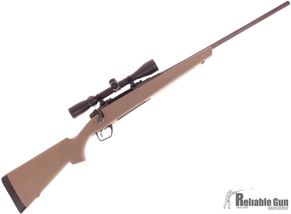 """Picture of Used Remington Model 783 Flat Dark Earth Scoped Bolt Action Rifle - 30-06 Sprg, 22"""", Flat Dark Earth Synthetic Stock, SuperCell Recoil Pad, w/3-9x40mm Scope, 1 Mag, Excellent Condition"""