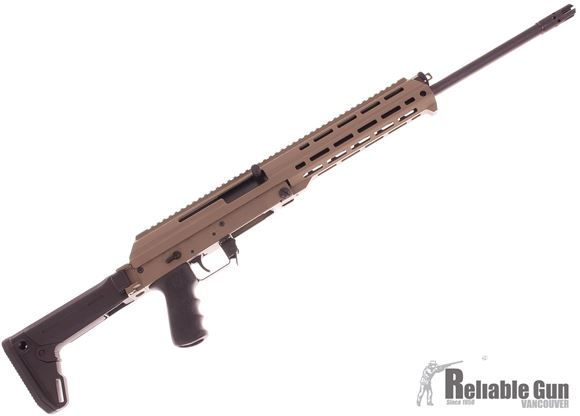"""Picture of Used M+M Industries M10X-Zhukov Semi Auto Rifle - 7.62x39mm, 18.6"""" Nitrided Barrel, M-Lok Aluminum Chassis, Magpul Zhukov Adjustable Folding Stock, 5/30rds, FDE, Demo Samples"""