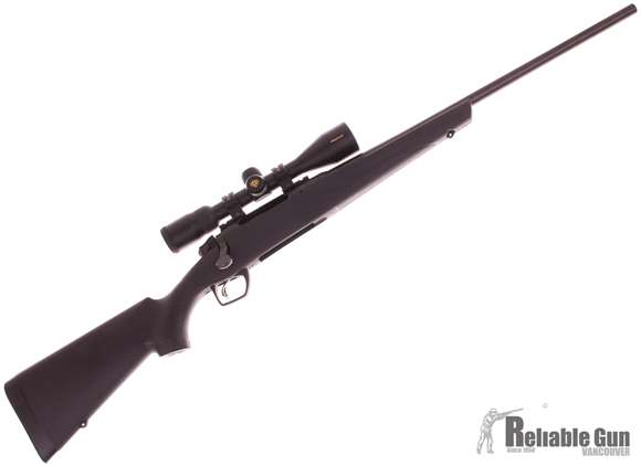"""Picture of Used Remington Model 783  Bolt Action Rifle - 308 Win, 22"""", Matte Black Synthetic Stock, 1 Magazine, Nikon Pro Staff 3-9x40 Scope, Excellent Condition"""