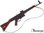 """Picture of Used German Sport Guns (GSG) GSG-STG 44 Rimfire Semi-Auto Rifle - 22 LR, 17.2"""", Blued, Solid Wood Stock & Grip Panels, 5 Magazines, Sling, Very Good Condition."""