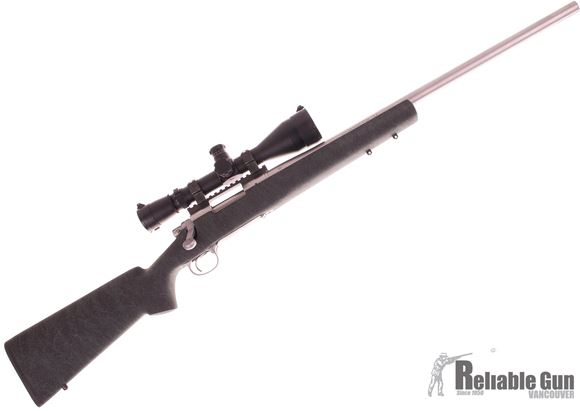 "Picture of Used Remington 700 5R Stainless 223 Rem 24"" - W/ Leupold Mark 4 TMR 4.5-14x50mm Scope & Mark 4 Ring & Mark 4 20MOA Base"