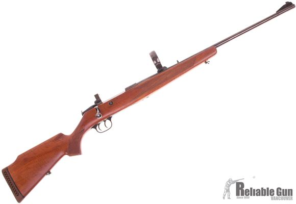 """Picture of Used Walther Model JR Bolt-Action 7x64mm, 24"""" Barrel, Double Set Trigger, With Claw Mount Rings, Very Good Condition"""