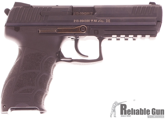"Picture of Heckler & Koch (H&K) P30L V3 DA/SA Semi-Auto Pistol - 9mm, 4.44"", Blued, Polymer, 2x10rds, Fixed Sight, Long Slide, Original Box, Excellent Condition"