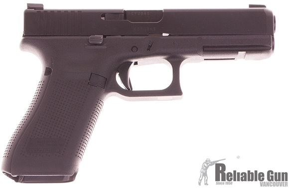 Picture of Used Glock 17 Gen5 Semi-Auto 9mm, With AmeriGlo Sights, 2 Mags & Original Case, Very Good Condition