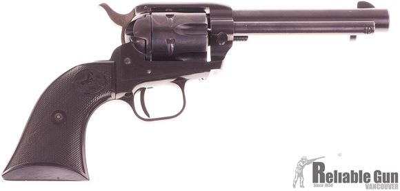 "Picture of Used Colt Single Action Frontier Scout 22 LR, 4.5"" Barrel, 1959 Mfg, Blued, Good Condition"