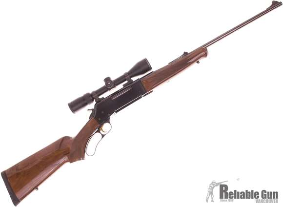 "Picture of Used Browning BLR Lever-Action 30-06 Sprg, 22"" Barrel, Wood/Blued, With Vortex Diamondback 3-9x40mm Scope, Sling, Excellent Condition"