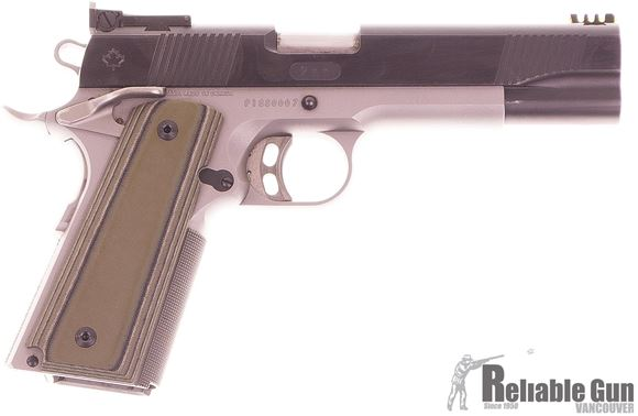 Picture of Used Dlask Arms 1911 Semi-Auto 9mm, Adjustable Sights, Extended Magazine Release, 2 Mags, Good Condition