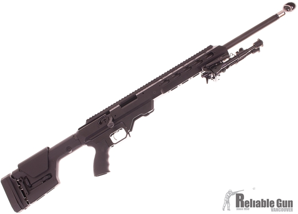 """Picture of Used Remington 700 SPS Varmint Bolt-Action 308 Win, 26"""" Barrel, With MDT Tac-21 Chassis & Magpul PRS Gen3 Stock, JP Enterprises Recoil Eliminator Brake, 2 Mags, Very Good Condition"""