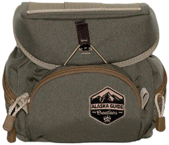 Picture of Alaska Guide Creations Binocular Harness Packs - Alaska Classic Bino Pack, Ranger Green, Fits Up To 12x50 Binoculars, & Large Rangefinders