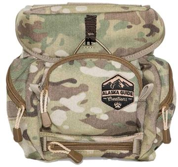 Picture of Alaska Guide Creations Binocular Harness Packs - Alaska Classic MAX Bino Pack, Multi-Cam Camo, Fits Up To 12x50 Binoculars, & Large Rangefinders