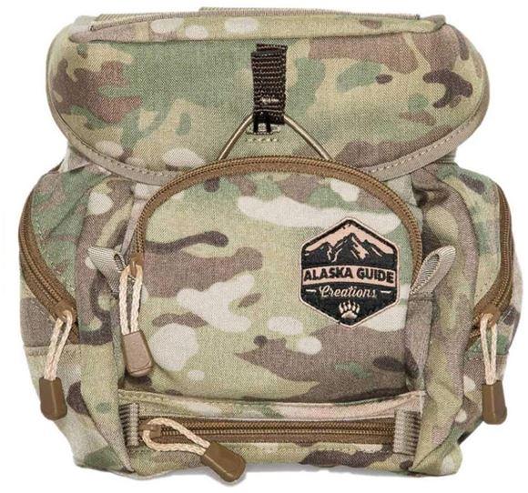 Picture of Alaska Guide Creations Binocular Harness Packs - Alaska Classic MAX Bino Pack, Multi-Cam Camo, Fits Up To 12x50 Binoculars, & Large Rangefinders