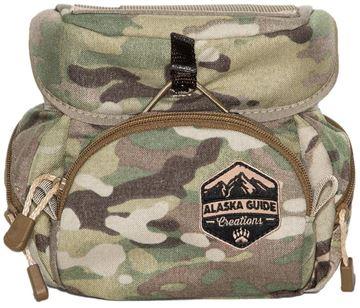 Picture of Alaska Guide Creations Binocular Harness Packs - Kodiak Cub Bino Pack, Multi-Cam Camo, Fits Up To 10x42 Binoculars, & Medium Sized Rangefinders