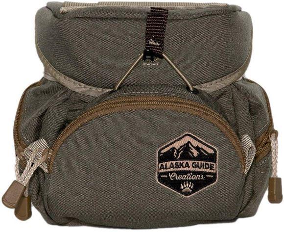 Picture of Alaska Guide Creations Binocular Harness Packs - Kodiak Cub Bino Pack, Ranger Green, Fits Up To 10x42 Binoculars, & Medium Sized Rangefinders