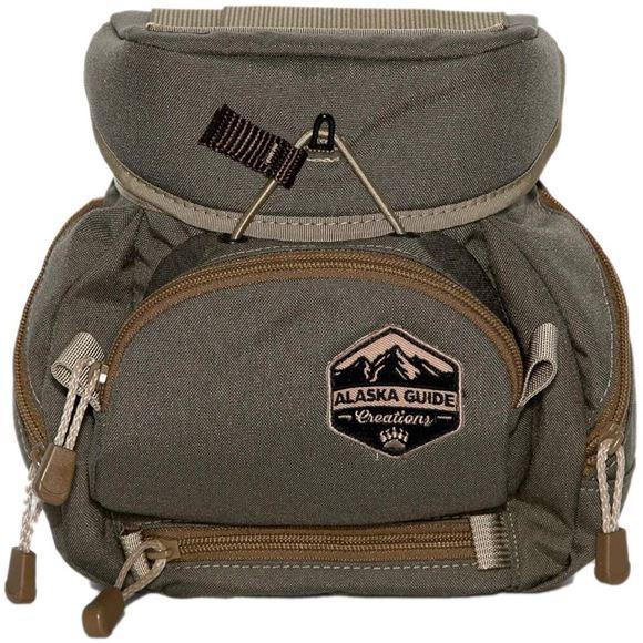 Picture of Alaska Guide Creations Binocular Harness Packs - Kodiak Cub MAX Bino Pack, Ranger Green, Fits Up To 10x42 Binoculars, & Medium Sized Rangefinders
