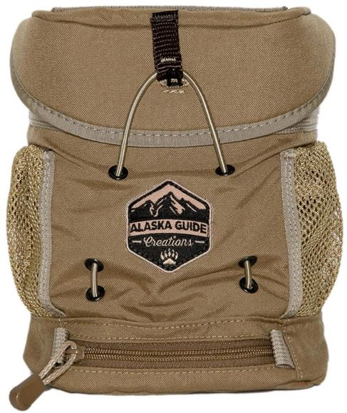 Picture of Alaska Guide Creations Binocular Harness Packs - KISS Max Bino Pack, Coyote Brown, Fits Up To 10x42 Binoculars